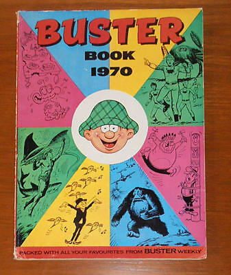 BUSTER Annual Book 1970 - like Whizzer and Chips Whoopee Valiant