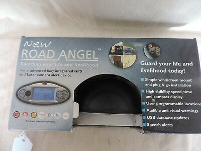 ROAD ANGEL Speed camera detector and warning system.  (C176)