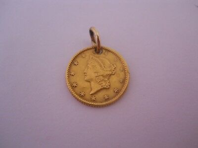 1850's United States $1 Gold Love Token *Free Shipping*