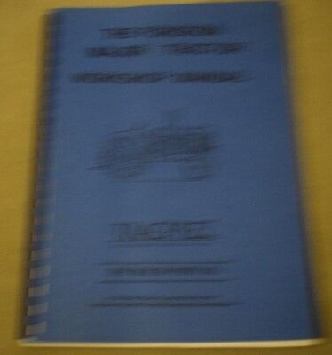 The Fordson Major Tractor Workshop Manual 1St Edition 1986 Tracprez