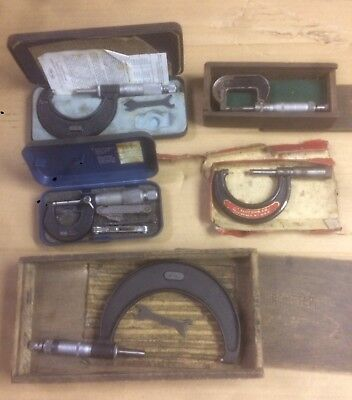 Moore & Wright Micrometers Slocomb USA