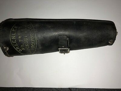 Vintage Greenlee No. 735BB  Knockout Punch Set With Leather Case