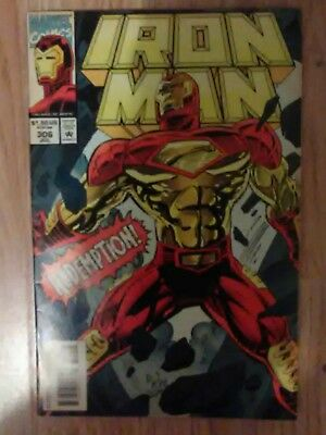 Iron Man Vol 1 #306 (1994) Captain America Nick Fury VF+ Combined P&P Available