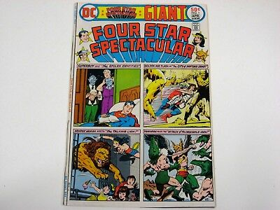 Four Star Spectacular #1 (1976 DC) VF GIANT Wonder Woman, Golden Age stories