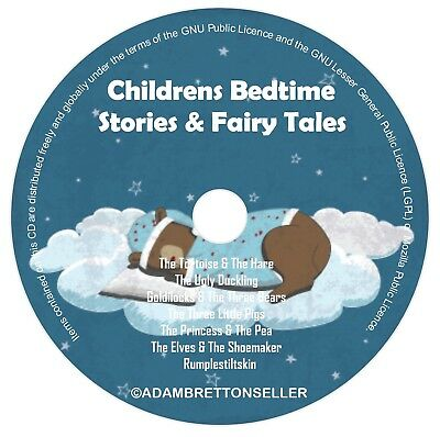 Childrens Bedtime Stories CD (1) - Classic Stories & Fairy Tales - Helps Sleep