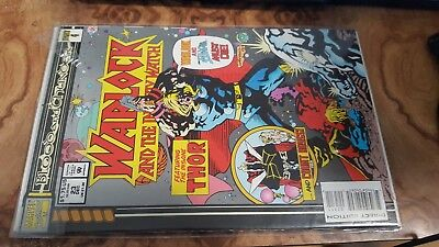 Warlock and the Infinity Watch 23 1993 Blood Thunder Part 4 Clash Insane Thor