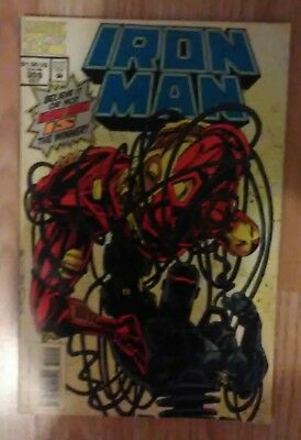 Iron Man Vol 1 #309 (1994) Mandarin War Machine VF+ Combined P&P Available