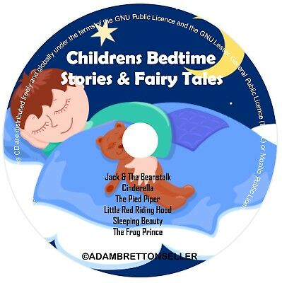 Childrens Bedtime Stories CD (2) - Classic Stories & Fairy Tales - Helps Sleep