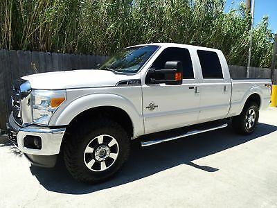 Ford Super Duty F-250 Pickup Lariat 2011 Ford Superduty F250 Lariat Crew Cab 4x4 6.7L Powerstroke Turbo Diesel