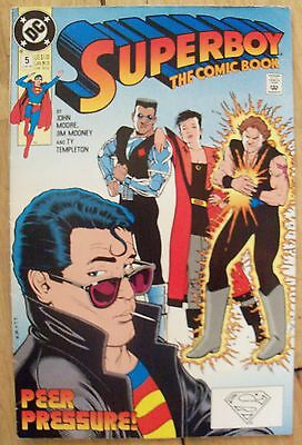 Superboy Vol 3 #5 (1990) DC Comics Kevin Maguire VF Combined Postage Available