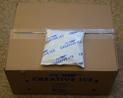 36 x PacTemp 1lb Creative Ice Pack - Shipping Freezer Bag Cooler Food - (36lbs)