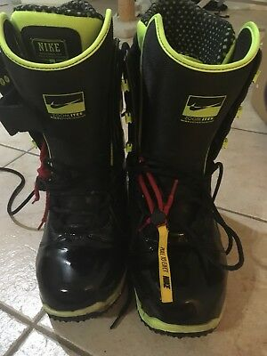 Nike Snow boots snowboarding boots zoomites size 10.5 shoes winter