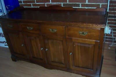 Vintage Cherry Sideboard - Converted From. Stereo Unit. L - C48