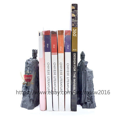 LOTR the Gate of Gondor bookends Argonath Diecast book holder action figure gift