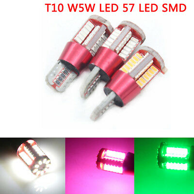T10 W5W LED 501 194 57 SMD Car Interior lamp bulb Side Light Bulb Wedge light