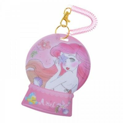 New Disney Store Japan Pass Case Ariel charming From Japan F/S