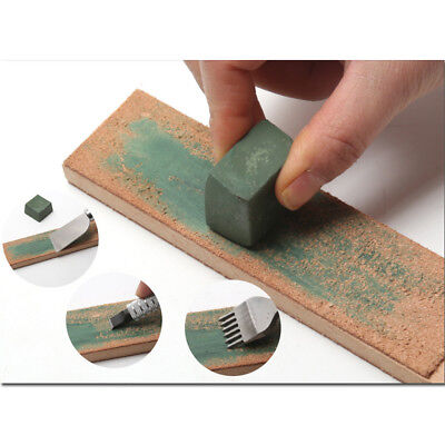 30x30mm Green Rouge Abrasive Polishing Paste Buffing Compound Metal Grinding