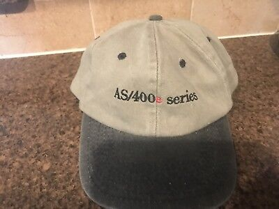 Vintage IBM Hat AS/400 eServer