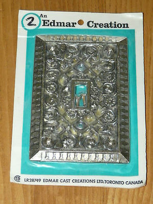 Vintage New Old Stock EDMAR CREATION # LR28749 Carriage House Switch Plate Cover