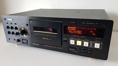 TEAC V-8030S V8030S Black Supreme High-End Stereo Cassette Deck *RARE*