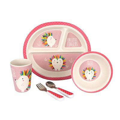 Hippychick For Little Fingers Kids / Children's Dinner Feeding Set - Hedgehog
