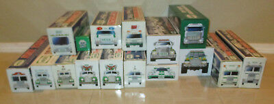 Hess Truck Collection lot of 16 trucks 1993 to 2016