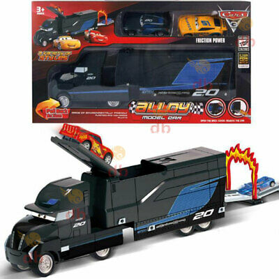 Disney Pixar Cars 3 Jackson Storm's Transforming Hauler Playset Toy Car Gift AU