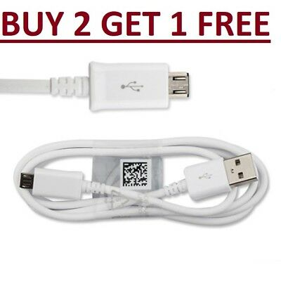 Genuine Fast USB Charger Charging Cable for Samsung Galaxy Phone S5 S6 S7 Edge +
