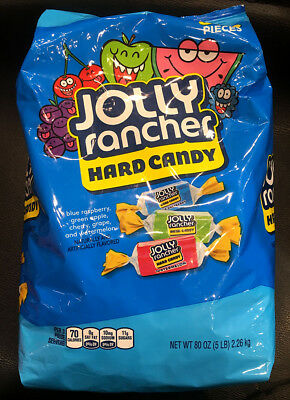 USA Jolly Rancher Original Flavors Hard Candy 2.26kg Bulk - Jolly Ranchers