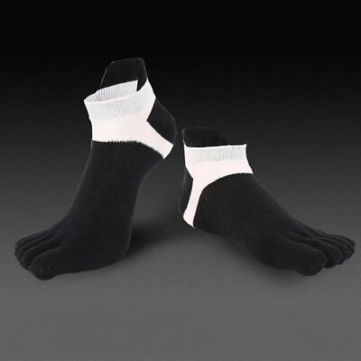 REKYO Women Toe Socks Five Finger Socks Soft and Breathable Low Cut Ankle Socks