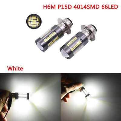 H6M P15D 4014 66SMD Motorcycle lamp traffic lights brake taill distance light