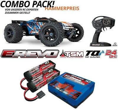 Traxxas 86086-4 Sparset 6 E-Revo Brushless 4WD 2.4GHz TQi TSM V2.0 Version 2018