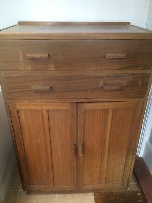 1940s Chest Of Drawers Cupboard Side Buyer to collect