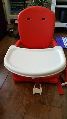 Mothercare folding travel booster high chair seat