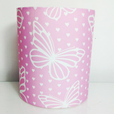 Delicate Butterfly, Fabric Light / Pendant Ceiling Shade