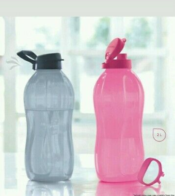 Tupperware 2L Jumbo Flip Top Water Bottle-2000 ML-with handle