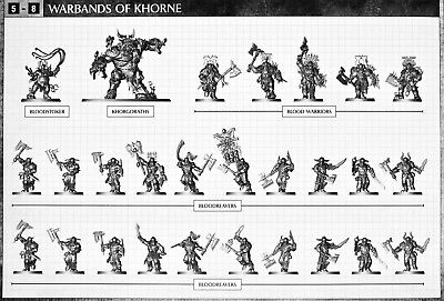 Thunder & Blood, Khorne Bloodbound Half. Warhammer Age of Sigmar.