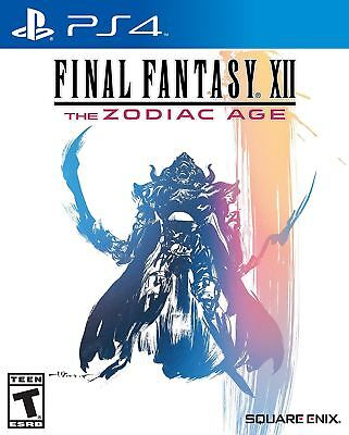 Final Fantasy XII The Zodiac - Remastered Sci-Fi RPG Role Playing Action PS4 NEW