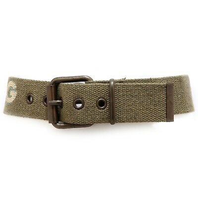 4844V cintura bimbo D&G JUNIOR tessuto green tissue belt boy kid