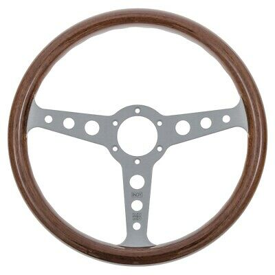 Genuine Momo Indy Heritage Steering Wheel 350mm Diameter In Mahogany Wood MOMO20