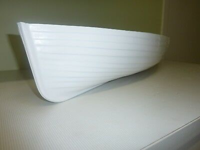 Rc model boat hull clinker style for live steam