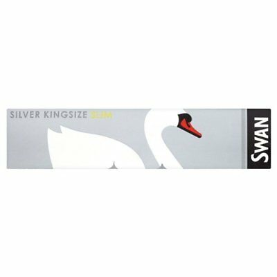 Swan King Size Slim Rolling Papers Booklets Silver Smoking Rizla Multi Pack