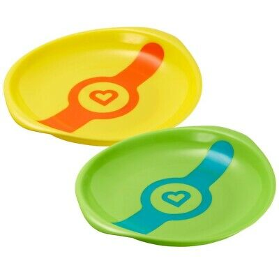 Munchkin White Hot® Plates - 2 Pack / Baby & Toddler feeding dishes