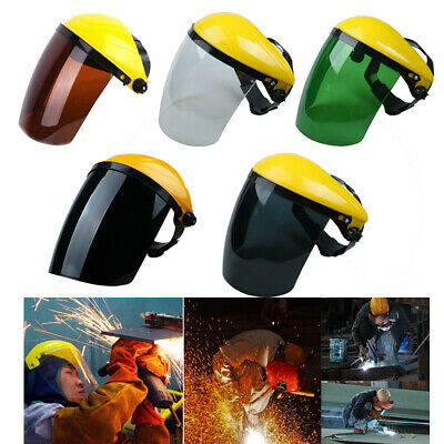 Safety Headgear Face Shield with Visor, Face Shield with Flip-up Visor