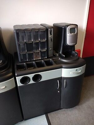 2 x FLAVIA CREATION 400 COFFEE AND HOT DRINKS MACHINE, excellent condition
