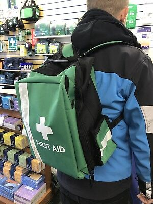 First aid ruck Sack With Kit For School Group First Responder Event Medical