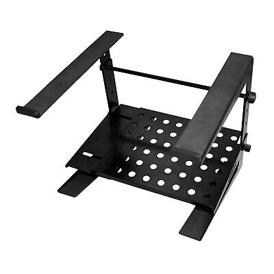 Ultimate Support JS-LPT200 Double-Tier DJ PA Laptop Computer Stand Mount Holder