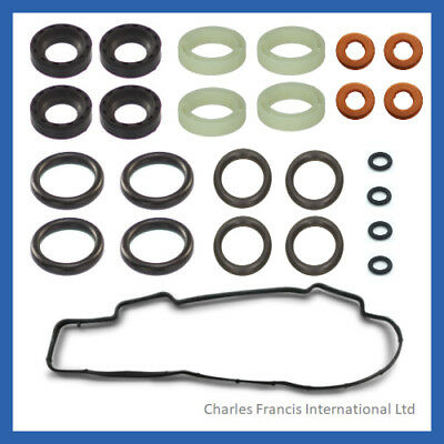 Ford Fiesta Fusion 1.4 TDCI Injector seals Clips Rocker Cover Gasket  1148101