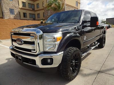 Ford Super Duty F-250 Pickup Lariat 2014 Ford Superduty F250 Lariat CrewCab 4x4 6.7L Powerstroke Turbo Diesel Engine