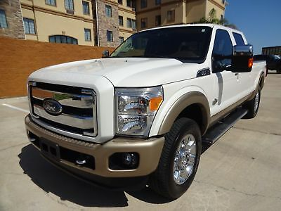 Ford Super Duty F-250 Pickup King Ranch 2012 Ford F-250 King Ranch Crew Cab 4x4 6.7L Powerstroke Turbo Diesel Engine